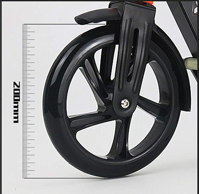 Amazon.com: LJJYN - Pedal plegable con 2 ruedas grandes de ...