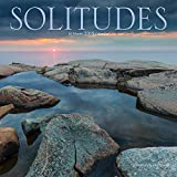 Solitudes 2019 12 x 12 Inch Monthly Square Wall Calendar by Wyman, Canada Nature Inspiration
