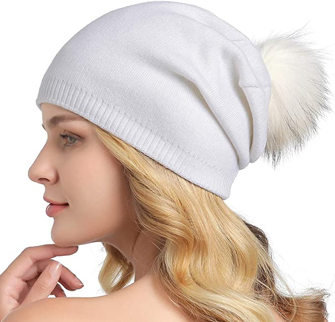 Chunky Knit Hat  Winter Hat  Womens Pom Pom Hat  THE ALBERT Free Shipping Holiday Gifts for Women
