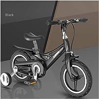 Fiets jongen Kids Bike Child Fiets 12″ 14″ 16″ Children's Fiets for 2-9 jaar oud magnesiumlegering Frame Non-inflatable…