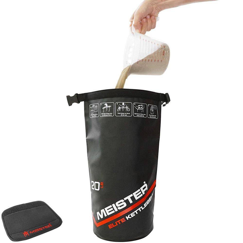 10//15//20lb Meister MMA Soft Sandbag Weight Meister Elite Portable Sand Kettlebell