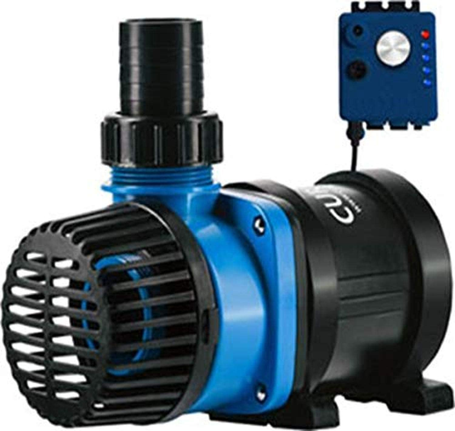 Current USA eFlux DC Flow Pump with Flow Control |1050 GPH, 1900 GPH & 3170 GPH Flow Ranges Available | Ultra Quiet, Submersible or External Installation | Safe for Saltwater & Freshwater Systems