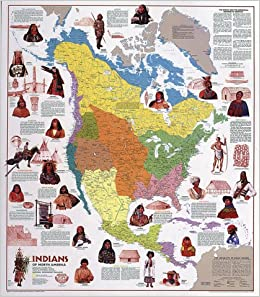 Thematic Map Of North America Buy Indians of North America (NG USA Thematic Maps) Book Online at
