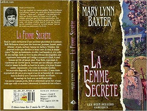 Amazon Fr La Femme Secrete Occasion Acceptable Livres