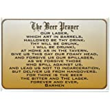 "CafePress - Beer Prayer Rectangle Magnet - Rectangle Magnet, 2""x3"" Refrigerator Magnet"