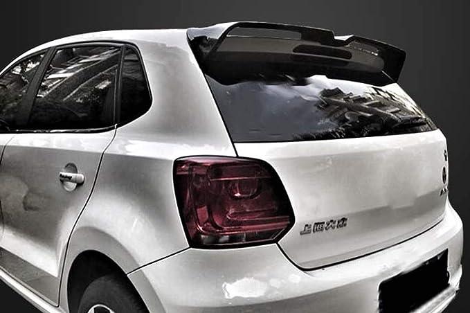 Spoiler Trasero Oettinger para Volkswagen Polo 2010-2017 año Spoiler Primer o DIY Color Car alerón Trasero para Polo, ABS, Black