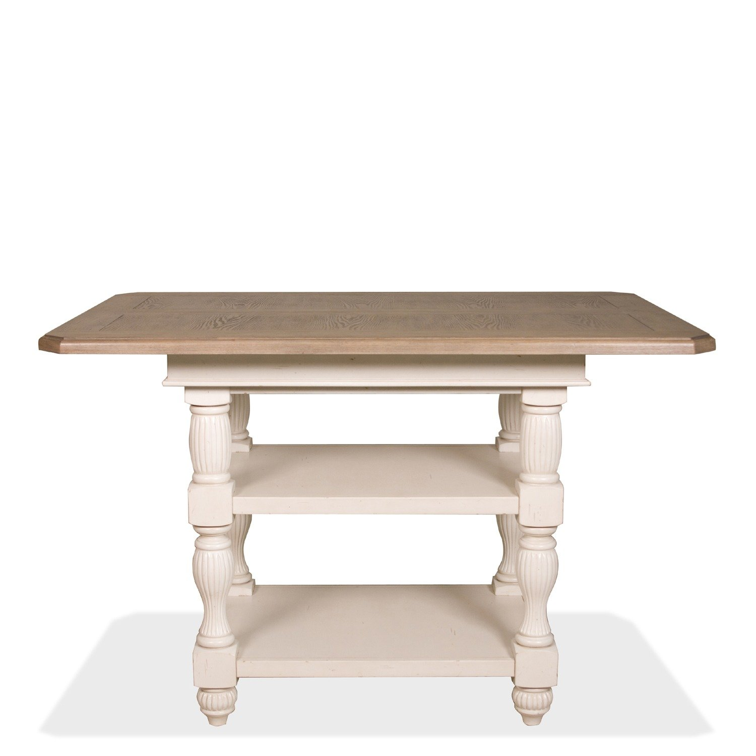 Amazon Riverside Furniture Coventry Two Tone Dining Table in