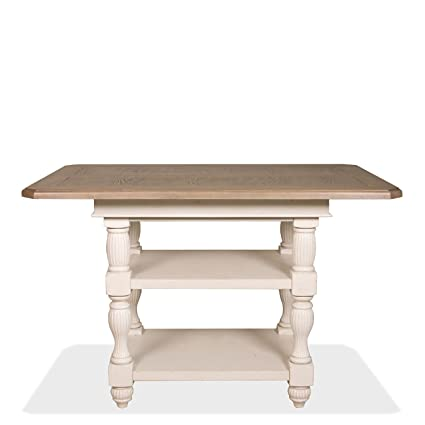 Exceptionnel Riverside Furniture Coventry Two Tone Dining Table In Dover White