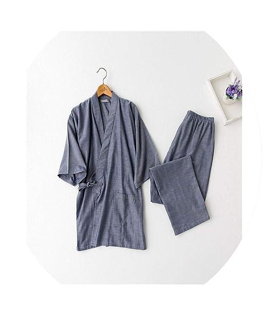 Amazon.com: Kimono - Juego de albornoz japonés para pijama ...