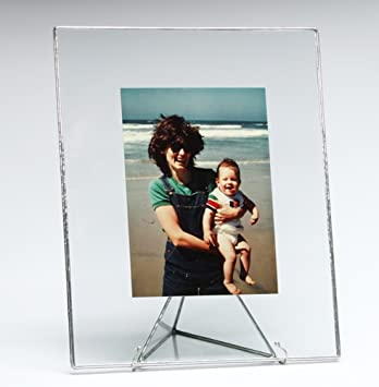 Amazon.com - Bedford Downing Floating Glass Picture Frame Available ...