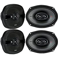 (4) Kicker 44KSC69304 KSC6930 6x9 600 Watt 3-way Car Audio Speakers KSC693