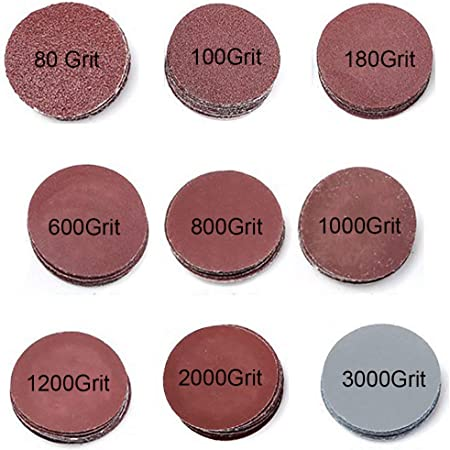 """20pcs 75mm 3/"""" Sanding Discs Sheets Orbital Sander Pads 800 Grit Paper P800"""