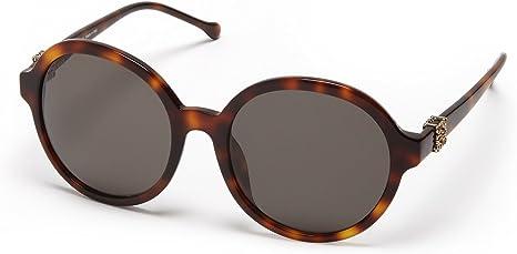 Loewe SLW949G5709AJ Gafas de sol, Shiny Brown Havana, 57 para Mujer
