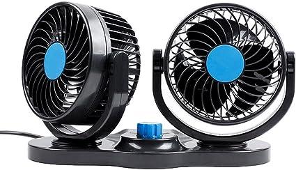 AAPP Shop Ventilador Ventilador Ventilador de 12V Potente ...