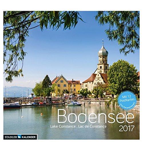 Bodensee 2017: Postkarten-Tischkalender