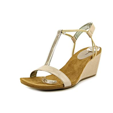 7c9a1c11d129 Image Unavailable. Image not available for. Color  SC35 Mulan T-Strap Wedge  Sandals ...