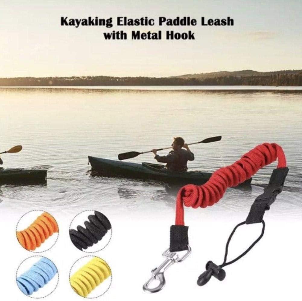 2 pezzi Kayak Canoa Kayak Canna da pesca Cavo di sicurezza per evitare che