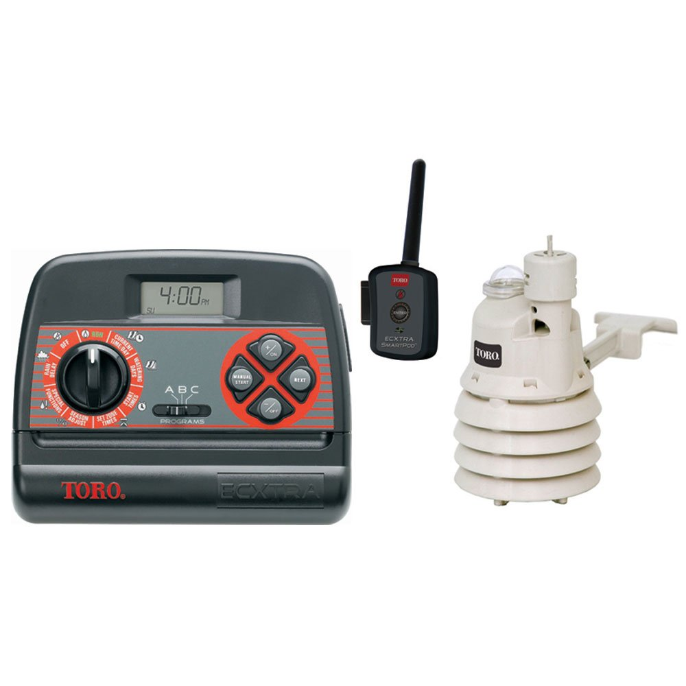 Toro 53855 XTRA 8 Zone Timer Smart-Pack Weather Sensor by Toro
