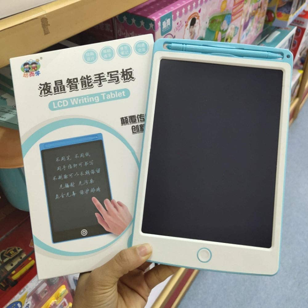 Fighrh 8.5Inch LCD Writing Tablet Electronic Writing Board Digital Drawing Board Graphic Drawing Tablet Durable LCD Writing Tablet Digital Ewriter Color : Pink