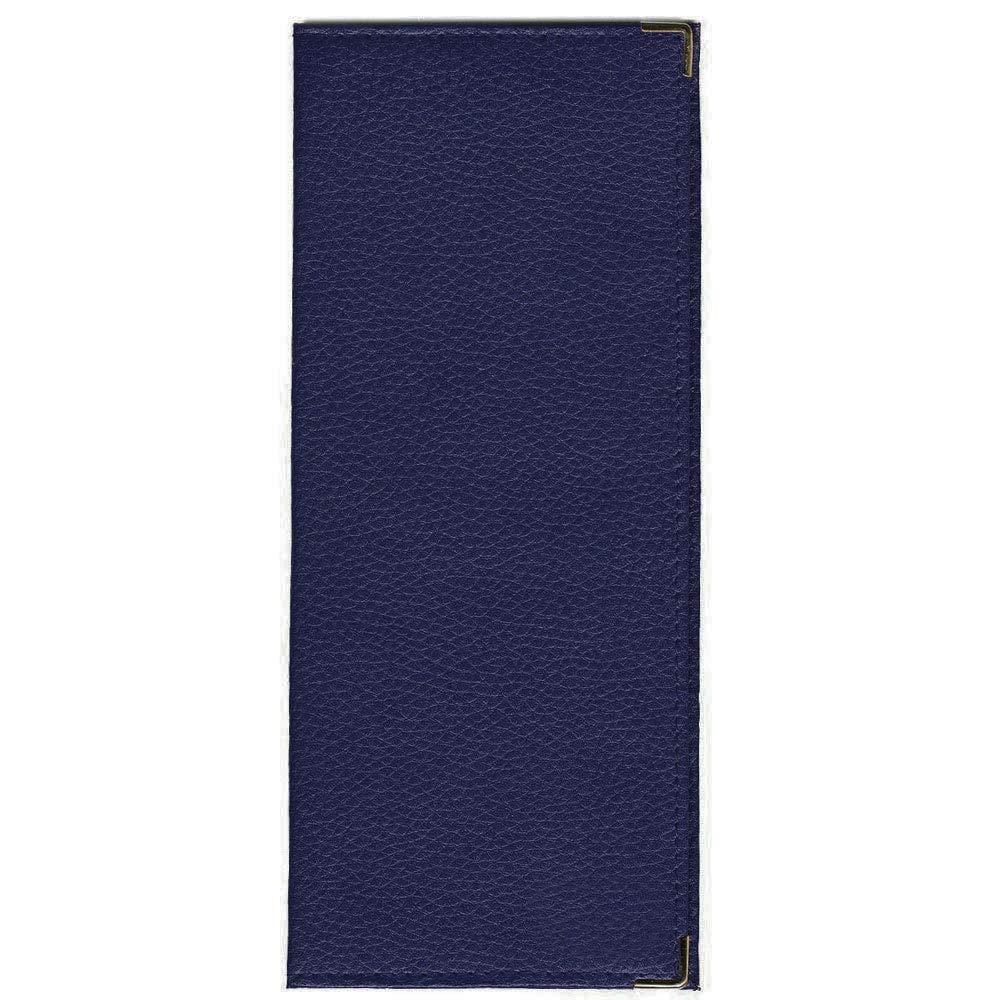 Charmoni - Porte Chéquier Longue Porte Carte Pièce D'identité En Cuir Neuf Paddy - bleu