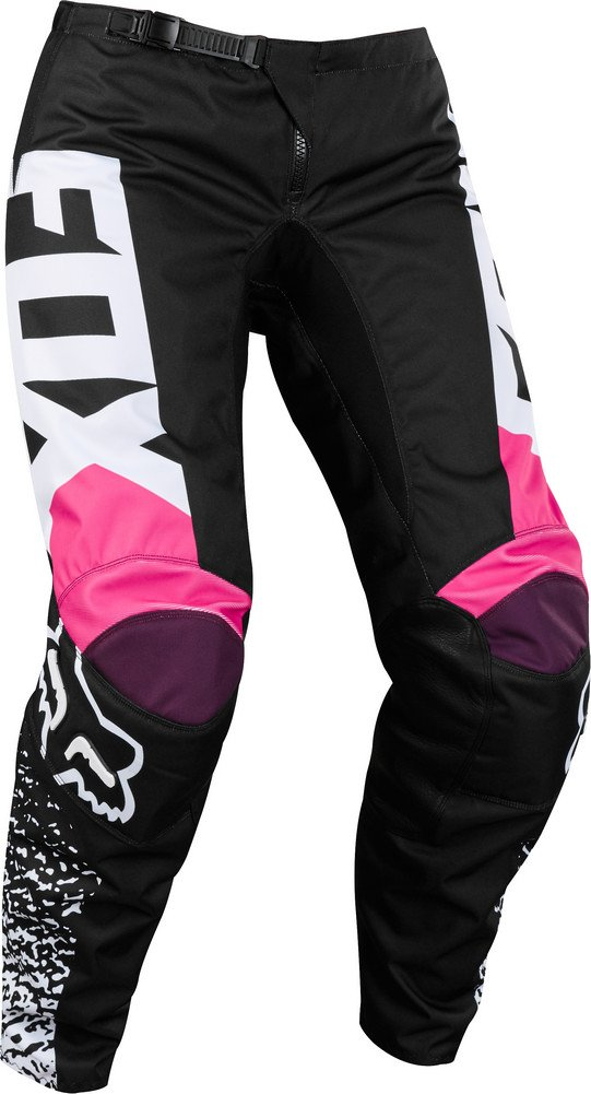 2018 Fox Racing Womens 180 Pants-Black/Pink-10 by Fox Racing (Image #1)