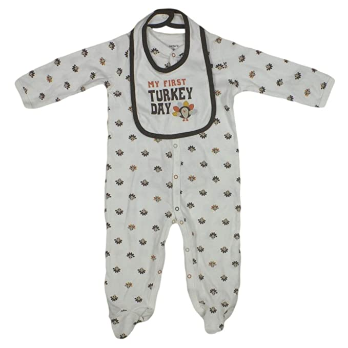 8970d4f1c Image Unavailable. Image not available for. Color: Carters Boys/Girls 2-Piece  My 1st Thanksgiving ...