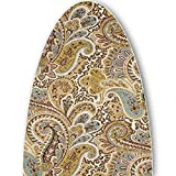 ClarUSA Premium Ironing Board Replacement Cover Fits Broan Nutone Models Chocolate Paisley Print