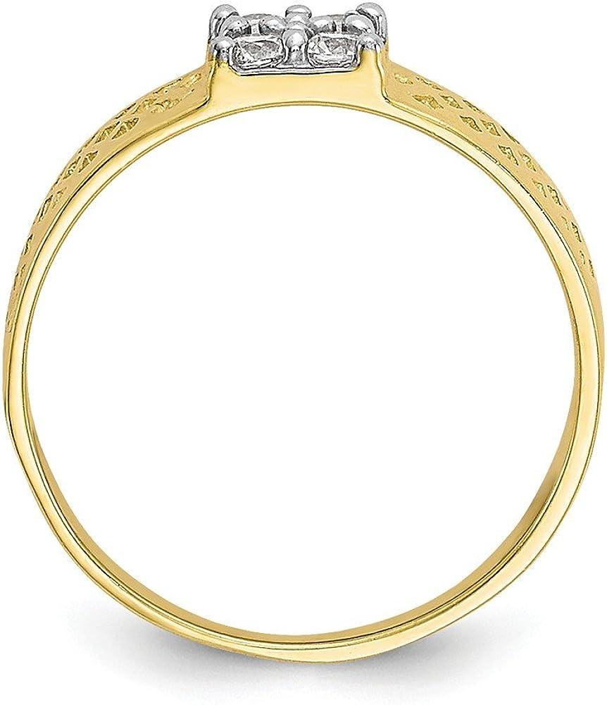 Baby and Children 10K Yellow Gold Ring