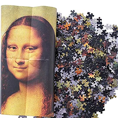 Moruska Mona Lisa by Leonardo da Vinci Jigsaw Puzzle 1000 Piece Puzzles for Adults Teens: Toys & Games