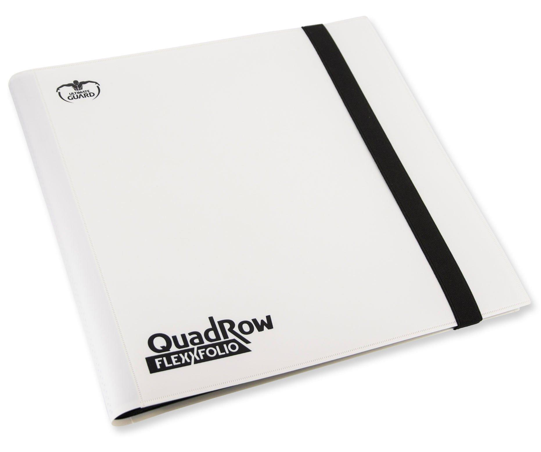 Ultimate Guard QuadRow 12-Pocket FlexXFolio White Card Game