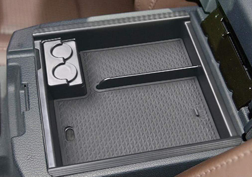 JOJOMARK 2019 Toyota Tacoma Accessories Center Console Organizer Tray Armrest Box Secondary Storage Fit 2016 2017 2018 2019 Tacoma