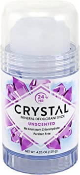 Crystal Deodorant Stick 4.25 Ounce 125.7ml 6 Pack