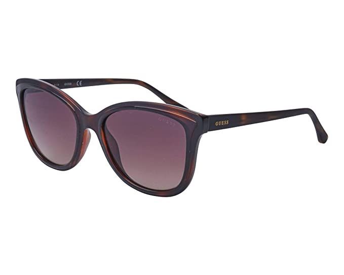 Guess - Gafas de sol - para mujer Marrón Avana Promedio ...