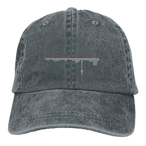 DEFFWB Hat New York City Denim Skull Cap Cowboy Cowgirl Sport Hats For Men Women