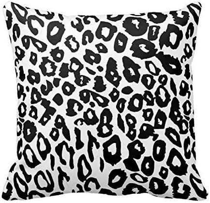 2 Leopard Print Throw Pillows Covers
