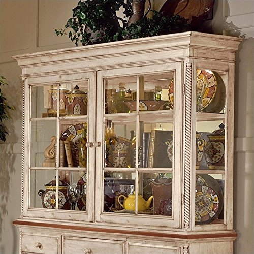 Hillsdale Wilshire Buffet and Hutch in Antique White Finish by Hillsdale (Image #1)