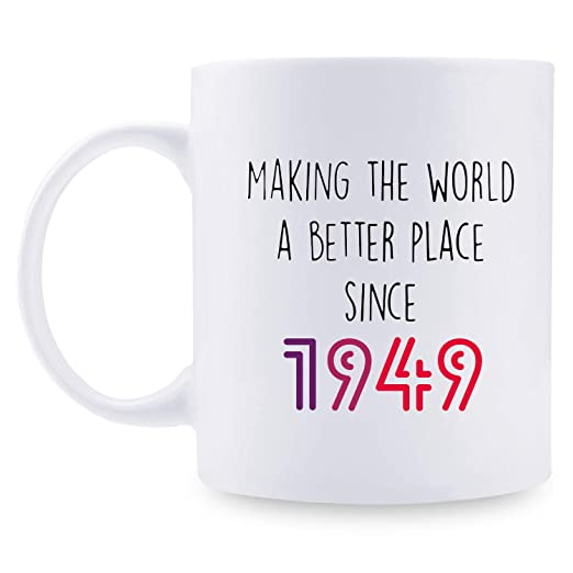 Regalo de cumpleaños 70 para hombres - 1949 regalos de ...