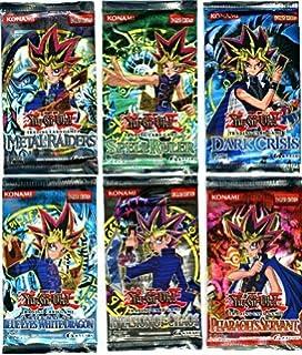 YuGiOh Card Game Lot of 6 Booster Packs Legend Blue Eyes White Dragon, Metal ...: Amazon.es: Juguetes y juegos