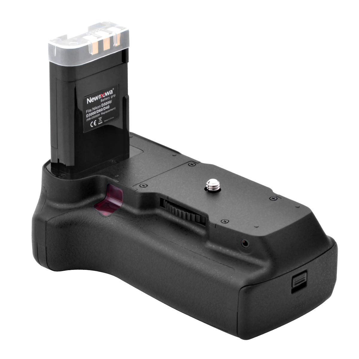 Newmowa MB-D5000H Mango de Repuesto Battery Grip para Nikon D40 ...