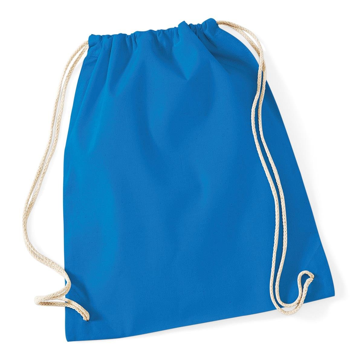 French Navy Westford Mill Cotton Lightweight Draw String Gym Sac Bag