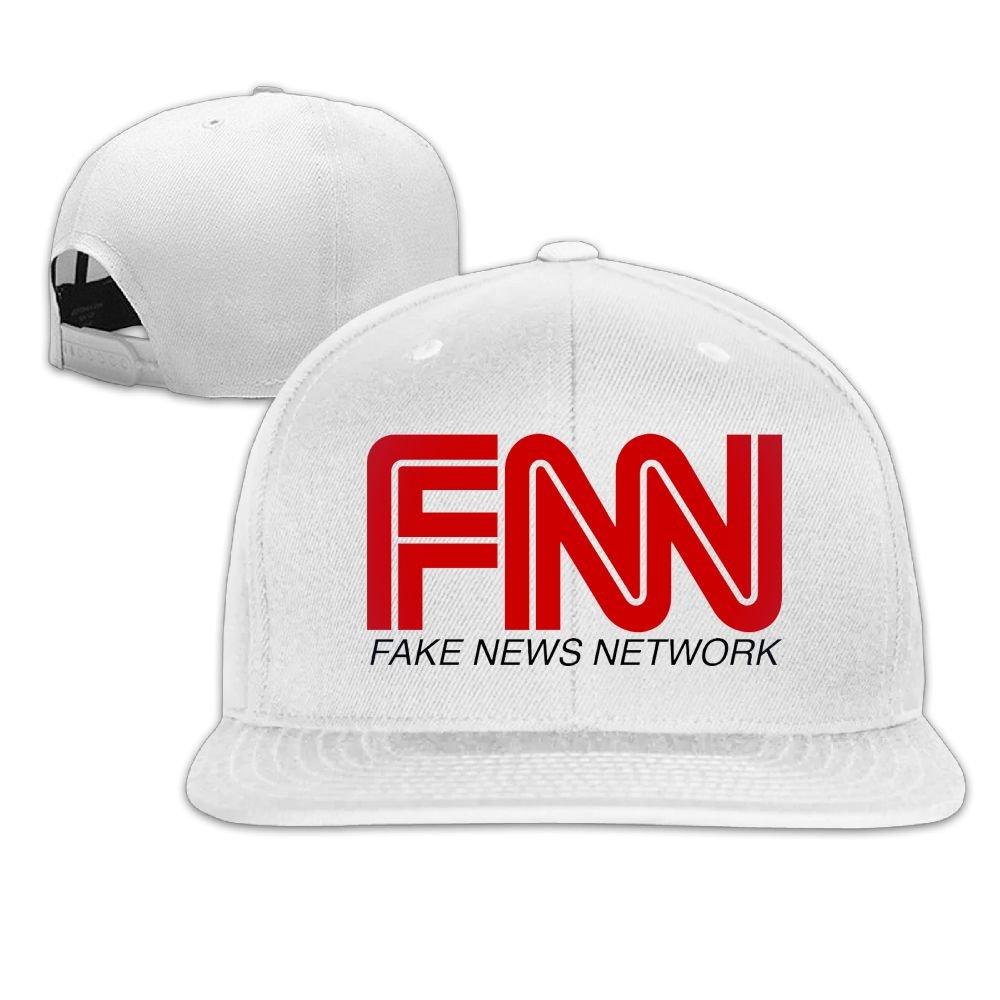 Amazon.com  Quzim Plain Logo Baseball Cap Polo Safari Dad Hat Fake News   Clothing e192aa4c5c61