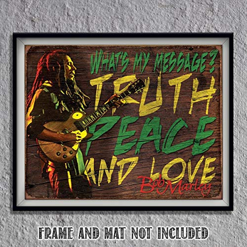 Bob Marley- Quotes Wall Art-