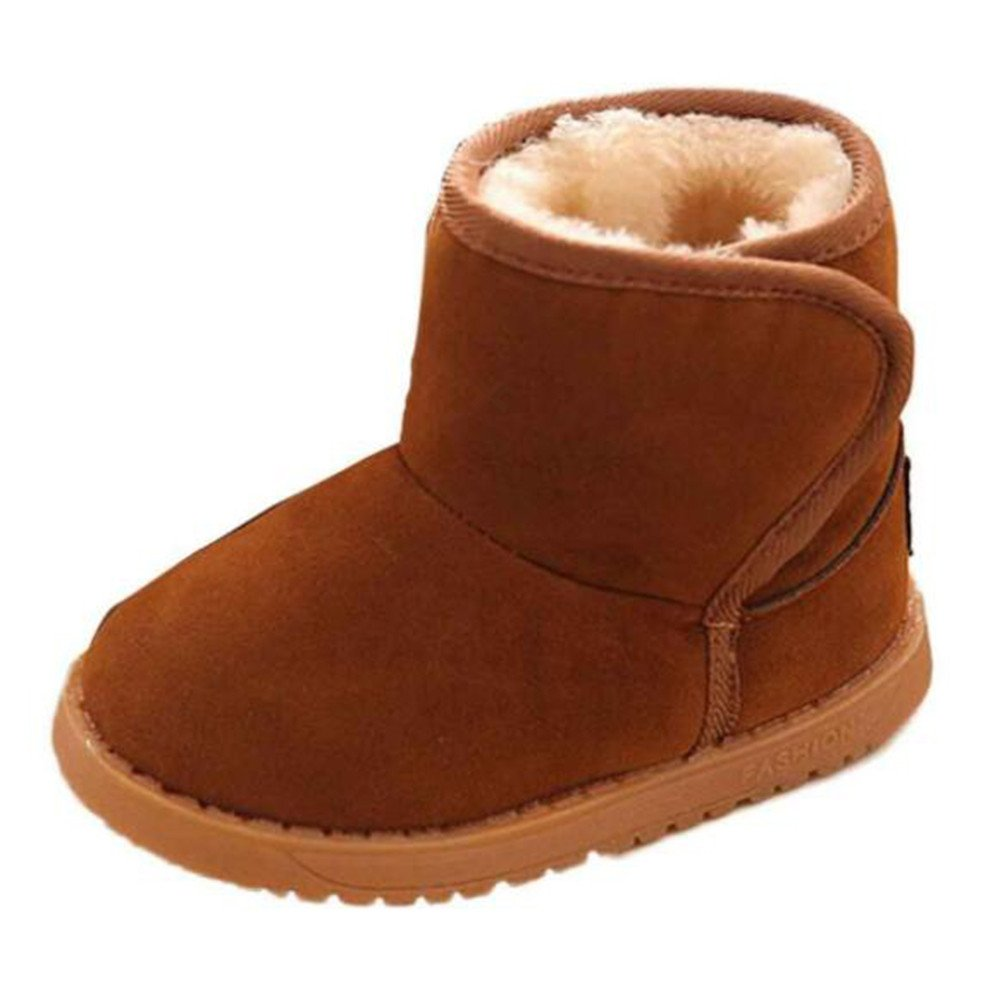 Matt Keely Baby Winter Shoes Kids Boy Girl Warm Snow Boots Toddler Unisex Plush Booties