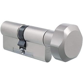 Cilindro Evva 3 KS Plus Cerradura (Incluye 3 llaves - 3 de curvas ...