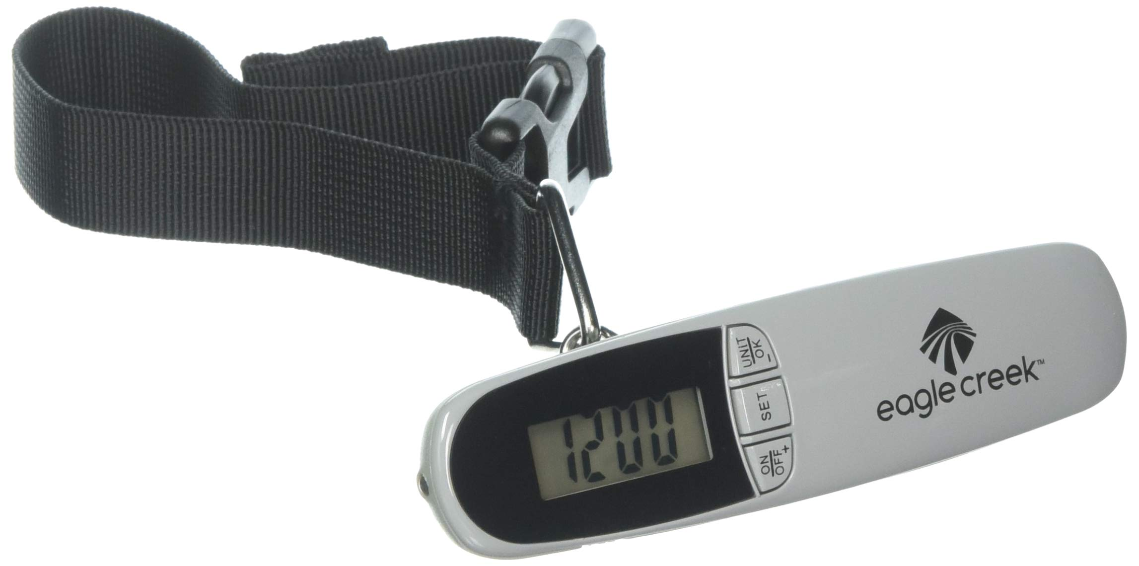 Eagle Creek Luggage Scale/Alarm Clock, CHARCOAL