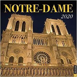 Notre Dame Calendar 2020 Notre Dame 2020 Wall Calendar: Universe Publishing