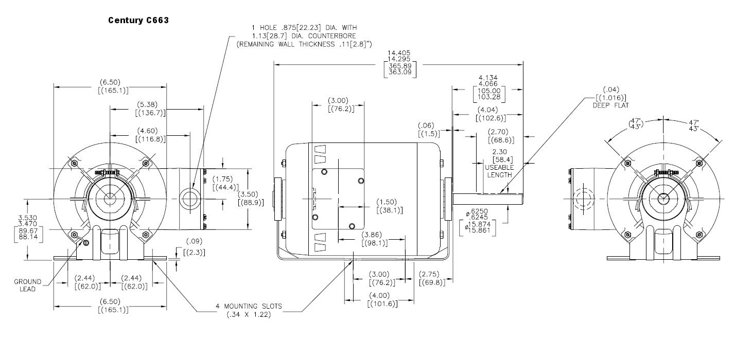 Jenn Air 70cr Replacement Motor 1 30hp 1550 Rpm Speed 115 10 Hp Wiring Diagram Volts Ao Smith 77 Electric Fan Motors