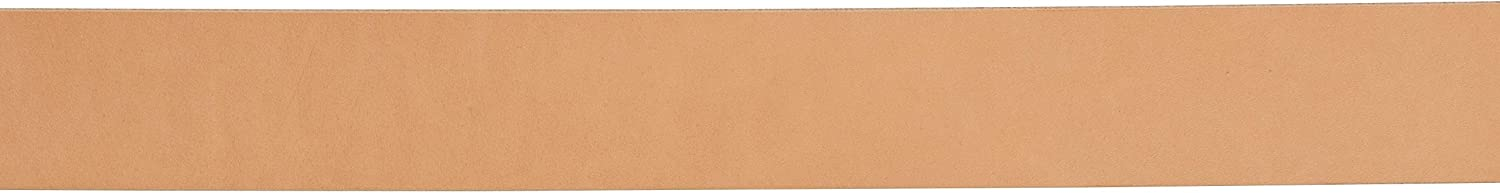 Hermann Oak Veg-Tan Leather Belt Blank Plain 1-1//2 Wide
