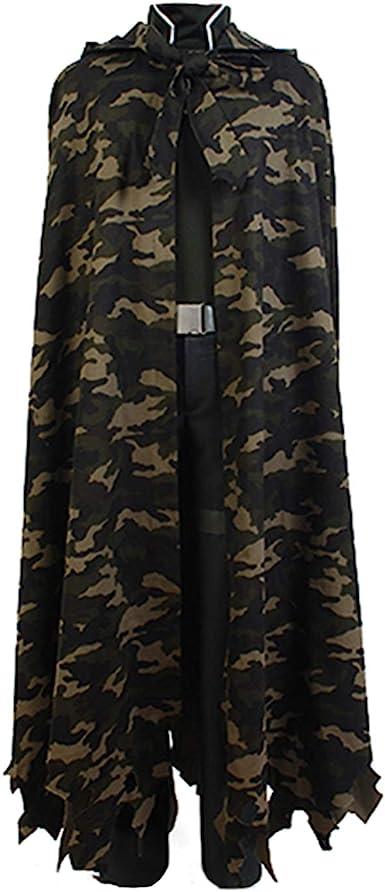 Amazon.com: Ya-cos Cosplay Sword Art Online Death Gun GGO Sterben Cosplay Costume Outfit Camouflage: Clothing