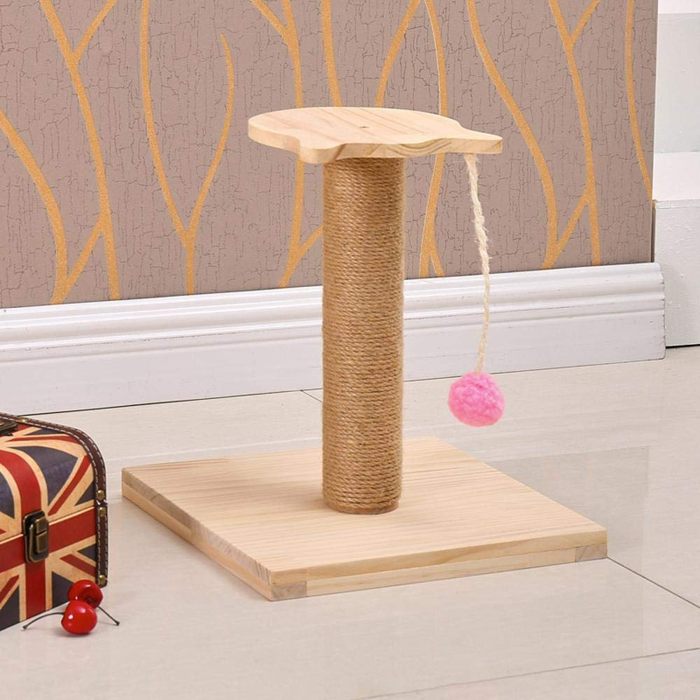 Axiba Play Towers Trees for Cats Wood Environmental predection cat Tree Cat Litter Cat Scratch Board cat Scratch pin cat toy Pet Supplies 30  30  37cm
